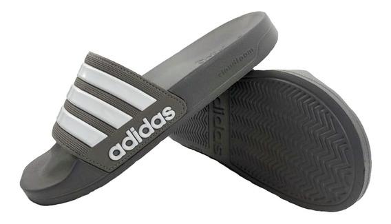 Ojotas adidas Hombre Adilette Shower 42212 Gris Empo2000