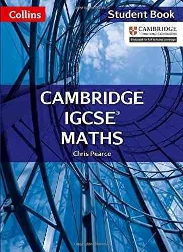Libro - Cambridge Igcse Maths (student Book) - Pearce Chris