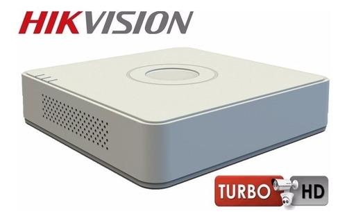 Grabador Hikvision Turbo Hd Dvr Ds-7104hqhi-f1/n Dvr 4 Canal