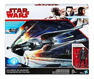 Nave Tie Silencer Kylo Ren Star Wars 8 Tlj/ Rabstore