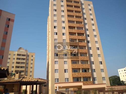Apartamento À Venda, 88 M² Por R$ 380.000,00 - Residencial Victoria - Indaiatuba/sp - Ap0344