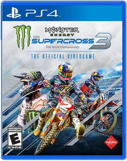Monster Energy Supercross 3 The Official Videogame 3 / Ps4