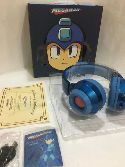 Mega Man Fone De Ouvido Edição Limitada Capcom Megaman
