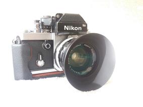 Nikon F2 C/ Lente Nikkor 35mm F/2.8 E Acessórios (revisados)