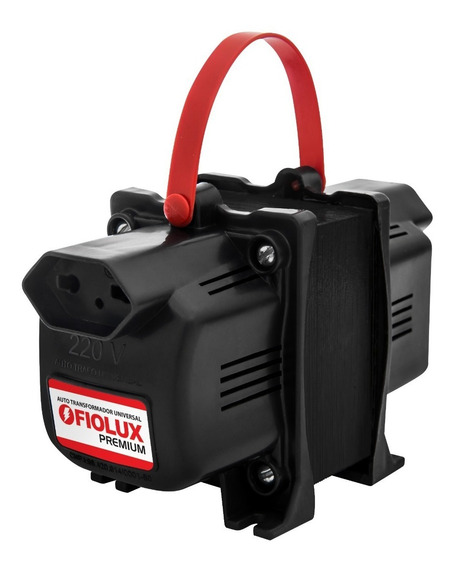Auto Transformador Fiolux Premium 500va - Tripolar 2p+terra