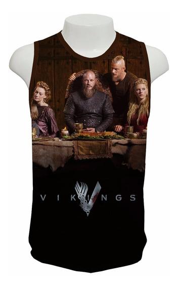 Camiseta Série Vikings 4ª Temporada - Regata