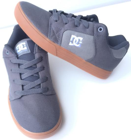 Tenis Dc Shoes Method Grey/gum T. 22.5,23 Y 23.5cm(reducido)