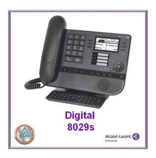 Teléfono Alcatel-lucent Modelo Digital 8029s (gama Nueva, Sustituyendo Al Modelo 8029)