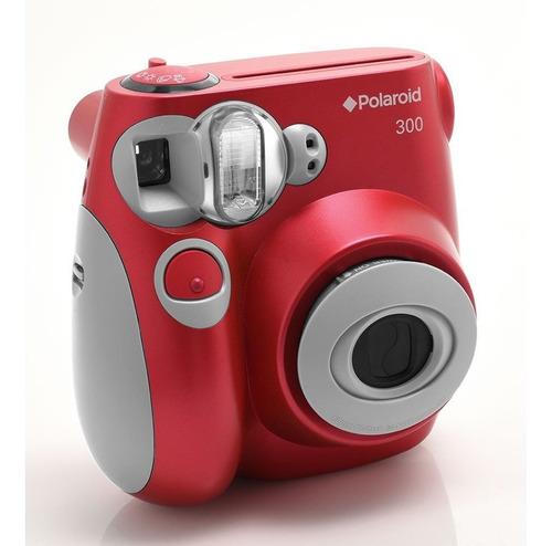 Câmera Instantânea Polaroid Vermelha Polpic 300