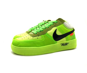Tenis Masculino Nike Air Force Off-white Lançamento Original
