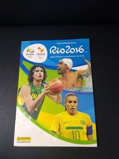 Álbum Incompleto Olimpíadas Rio 2016 Faltando 84 Figurinhas