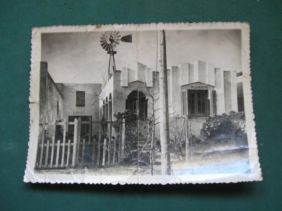 Antigua Fotografia Villa Merope, Necochea, 1946