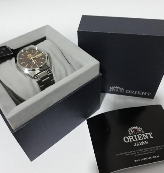 Relógio Orient Tres Estrela Crystal Japan