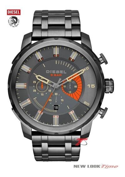 Relógio Diesel Masculino Stronghold Cronógrafo Dz4348