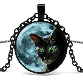 Colar Gato Preto Promoção Até Queimar O Estoque
