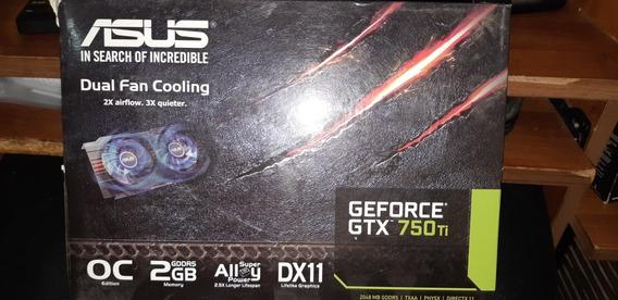 Tarjeta De Vídeo Nvidia Geforce 750ti 2gb 2 Coolers