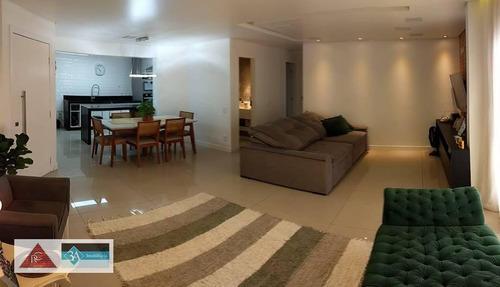 Imagem 1 de 11 de Apartamento Com 3 Dormitórios À Venda, 114 M² Por R$ 930.000,00 - Jardim Anália Franco - São Paulo/sp - Ap6331