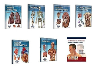 Libros De Anatomía Biblioteca Del Cuerpo Humano 7 Tomos