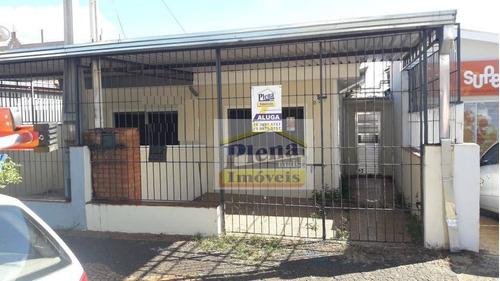 Casa Com 2 Dormitórios Para Alugar, 80 M² Por R$ 1.400,00/mês - Vila São Francisco - Hortolândia/sp - Ca4287