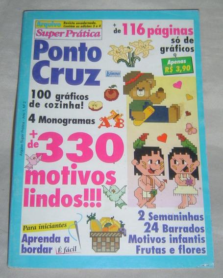 Livro Ponto Cruz 4 Monogramas - 100 Gráficos De Cozinha.