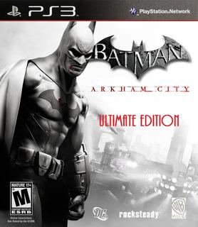 Batman Arkham City Ultimate Edition Ps3