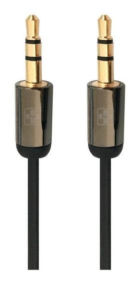 Cabo De Áudio Mais Mania P2 X P2 Hi-fi 1.8 Mts Metal (mm868)