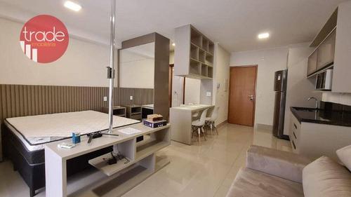 Imagem 1 de 16 de Flat Com 1 Dormitório Para Alugar, 44 M² Por R$ 2.000,00/mês - Bosque Das Juritis - Ribeirão Preto/sp - Fl0113