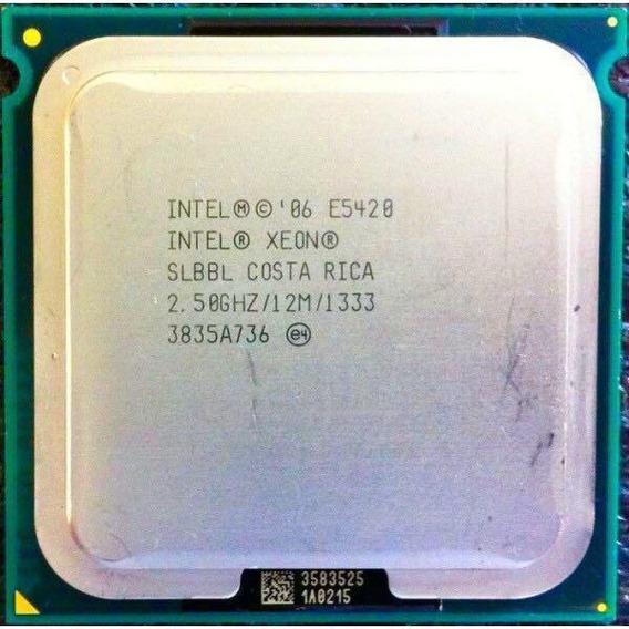 Intel Xeon E5420 Quad 2.50ghz 12mb 1333mhz 771 Matched Pair