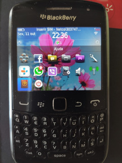 Blackberry Curve 9360 Wi-fi 3g Bluetooth