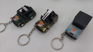 Miniatura Chaveiro Jeep Mini Force