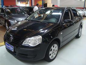 Volkswagen Polo Sedan 1.6 2007 Preto (completo + Rodas Liga)