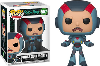 Funko Pop #567 Rick And Morty Purge Suit Morty Nortoys
