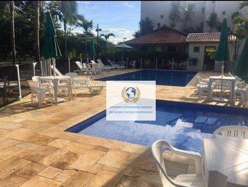 Apartamento Com 3 Dormitórios À Venda, 76 M² Por R$ 400.000,00 - Loteamento Center Santa Genebra - Campinas/sp - Ap0846