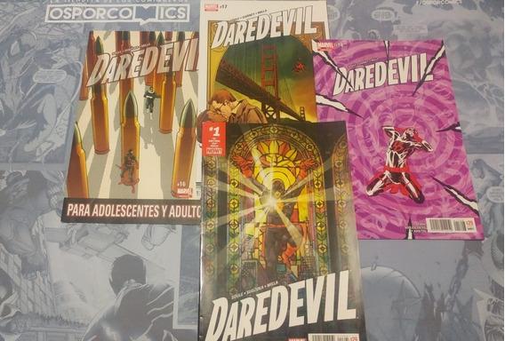 Daredevil Serie El Septimo Dia #16 Al #18 De Marvel Mexico