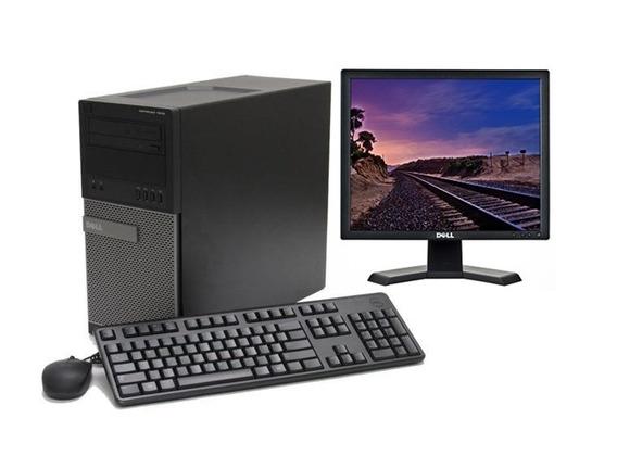 Lote Computadores Dell 7010- G2030 - Monitor Lcd 17 Usado