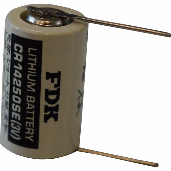 Bateria De Lithium 3v Cr14250se-t 02 Terminais Fdk_sanyo