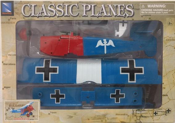 Kit Montar Avião Fokker D. V I I New Ray 1:48