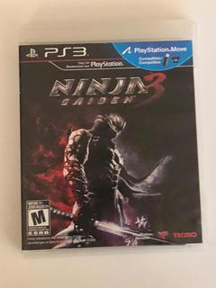 Ninja Gaiden 3 Ps3 Cd Videojuego