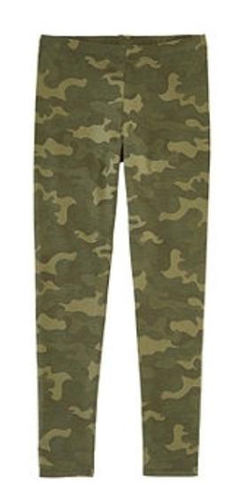 Leggins Niñas Militar Cami Camuflaje Talla 7.8 A Talla 14