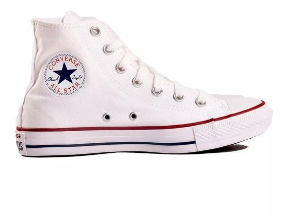 Zapatillas Mujer Botita Converse All Star Hi Blanco