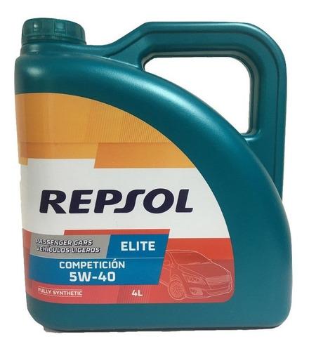 Aceite Sintetico 5w40 Repsol Origen España.