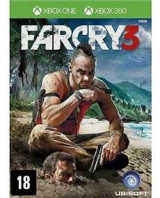 Jogo Far Cry 3 Xbox 360 E Xbox One - Retrocompatível