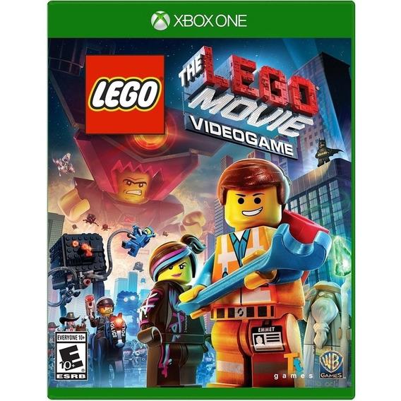 Jogo Lego Movie Xbox One Midia Fisica Original Novo Nacional