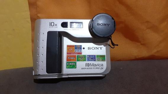 Câmera Fotográfica Antiga Sony Mavica