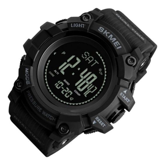 Relógio Masc Skmei 1358 Res Água Cor Preto Super Promo 12x