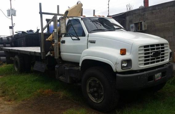 Camion Kodiak Plataforma Con Brazo Pigman