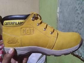 Zapatos Cat Punta De Acero