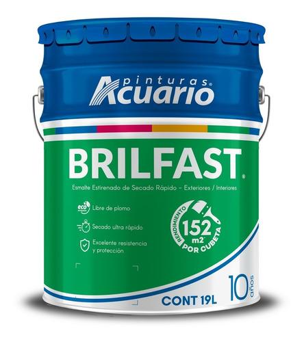 Imagen 1 de 2 de Esmalte Secado Rapido 19l Brilfast Acuario