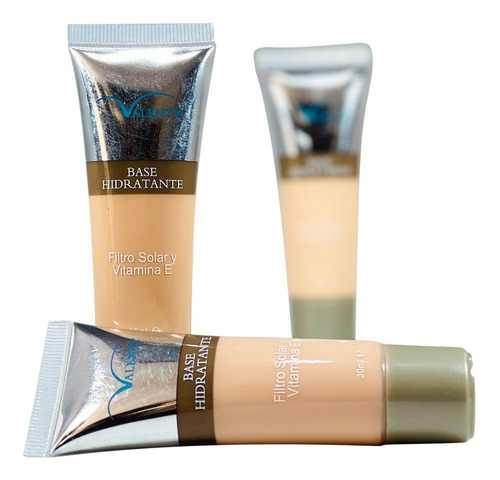 Base Liquida Hidratante Con Filtro Solar Y Vitamina E