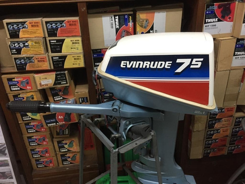 Motor Evinrude  7.5 Hp - 2t